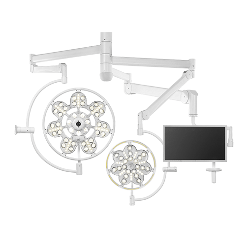 Светильник операционный потолочный «ЭМАЛЕД 500/300/X»