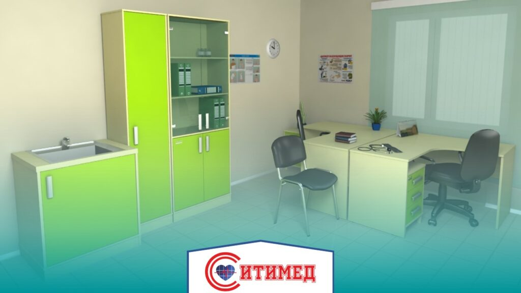 Оснащение кабинета врача дерматолога в поликлинике