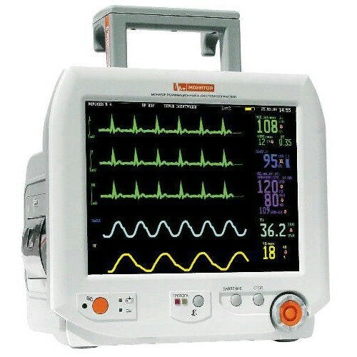 Монитор пациента реанимационный и анестезиологический Монитор Митар-01-Р-Д-3