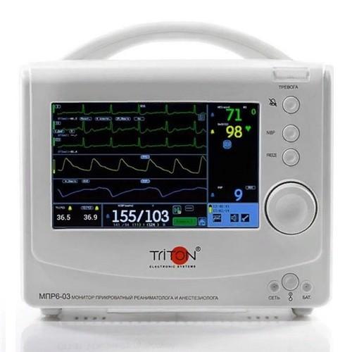 Транспортный портативный монитор пациента Тритон МПР 6-03 Т1