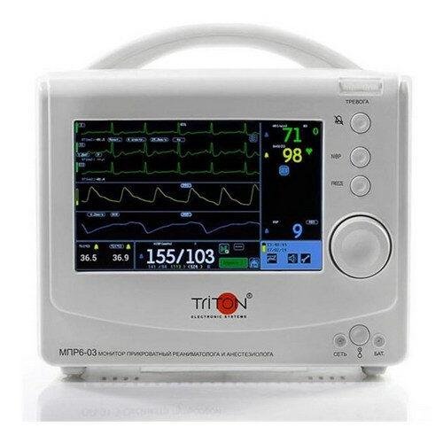 Транспортный портативный монитор пациента Тритон МПР 6-03 Т2