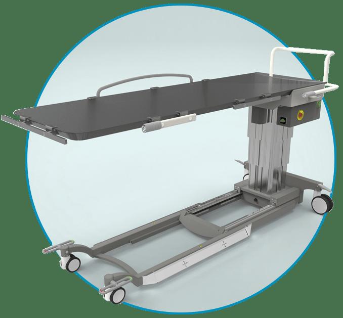 Мобильный рентгенопрозрачный стол RoeSys X Mobil
