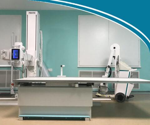 Цифровой рентгенодиагностический комплекс на 3 РМ КРД-«ОКО»