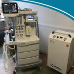 НДА 9100C NXT с монитором пациента B105 и автономным компрессором Remeza