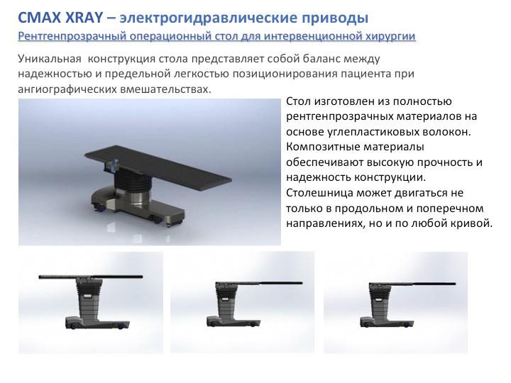 Операционный стол CMAX XRAY